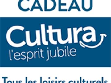 Vente: E-carte cadeau Cultura (75€)