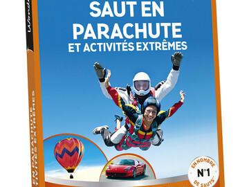 """Vente: Lot de 10 e-coffrets Wonderbox """"Saut en parachute"""" (2799€)"""