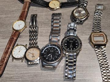 À vendre: Lot de montre à mettre piles ou réparer