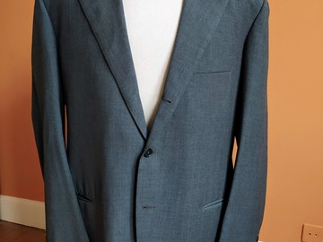 Selling with online payment: Bespoke Liverano suit grey