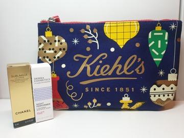 Venta: Neceser Kiehl's + Regalos Chanel y Derma Cosmetics