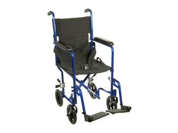SALE: Lightweight Blue Transport Chair | Aurora