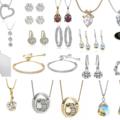 Liquidation/Wholesale Lot: 25 Assorted pieces Swarovski Elements Jewelry