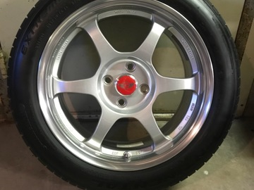 Selling: SSR Comp 16 X 7.5 Wheels with Continental D/W Tires