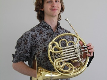 TRIAL LESSON 60 min: Piano & French Horn Lessns with Shane (60 min TRIAL LESSON)
