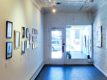 Hourly Spaces: Bright and Spacious Art Gallery in prime Hoboken