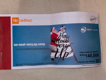 Vente: Chèque cadeaux Cadhoc (140€)