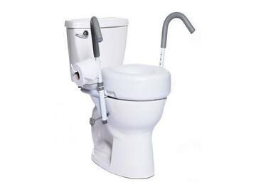 SALE: Ultimate Toilet Safety Rails | Aurora