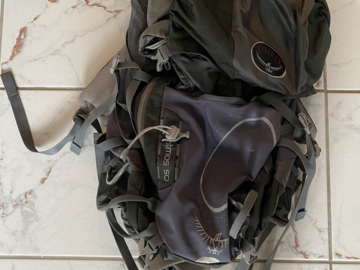 Renting out (per day): Osprey Atmos rinkka 50l