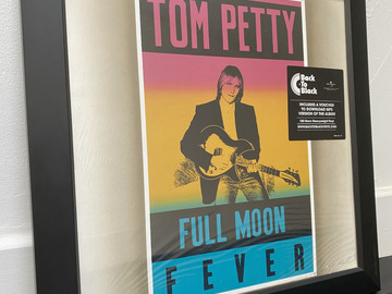Vente: Disque vinyle encadré Full Moon Fever de Tom Petty (Neuf)
