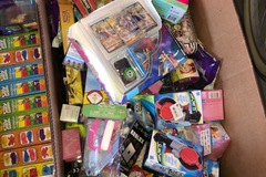 Liquidation/Wholesale Lot: Kids mystery toy box lot of miniatures and surprise toys