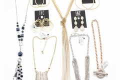 Liquidation/Wholesale Lot: INC High End Jewelry Lot $271 Ticketed Value