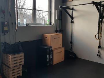 Vermietung Gym mit eigener Preiseinheit (Keine Kalender funktion): Privates Gym Crossfit/Kraftsport/Weightlifting