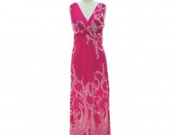 Liquidation/Wholesale Lot: 10 jon & anna Maxi Dress Knotted V-neck Floral Paisley Sleeveless