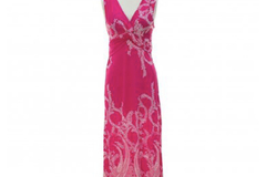 Liquidation/Wholesale Lot: 10 jon & anna Maxi Dress Knotted V-neck Floral Paisley Sleeveless