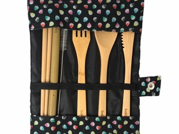 : HK exclusive – 6PC bamboo cutlery set – 'Tung Po' Dumplings