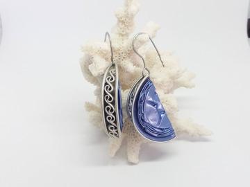 Vente au détail: Coquillage bleu
