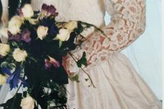 Ilmoitus: Morsmaikku Johanna Lätti silkkipuku