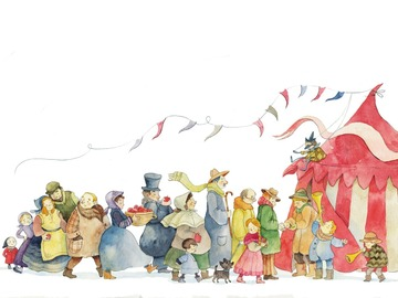 Illustration work : Watercolour children's book illustration