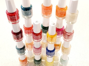 Liquidation/Wholesale Lot: Colorina Fast Dry Nail Polish – Great Assortment - 60 cents each