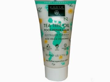Liquidation/Wholesale Lot: Earth Therapeutics Tea Tree Oil Foot Repair Balm 1.7 Oz