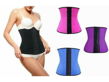 Liquidation/Wholesale Lot:  (40) Women's Waist Cincher Shapewear -Thermo Compression-BeautyK
