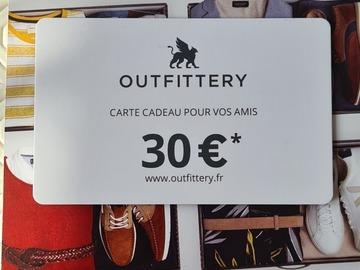 Vente: Bon d'achat OUTFITTERY (30€)