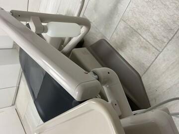Gebruikte apparatuur: Mooie A-dec stoel