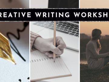Free / Donation: Creative Writing Workshop for Relaxation and Empowerment