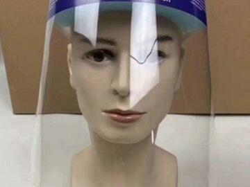Gebruikte apparatuur: 50 Face Shields - Spatschermen - Gelaatschermen