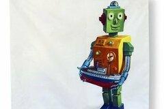 Myydään tavaraa tai tarvikkeita: Tyynyliina, Robotti