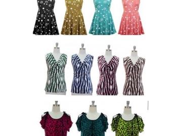 Liquidation/Wholesale Lot: 27 Womens Boutique Tops jon & anna Shirts