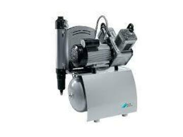 Gebruikte apparatuur: Durr Duo 2 cilinder compressor