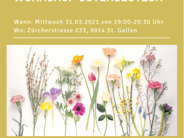 Workshop Angebot (Termine): Workshop Ostergesteck/Tischschmuck