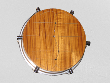 VIP Members' Sales Only: American Percussion's Slit Marimba Tom tom  ( Will Ship)