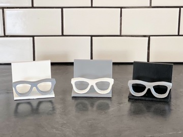 Selling with online payment: Eyeglass business card holder