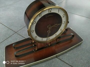 À vendre: Horloge a pendule début XX eme siècle (a réparer)- Slingerklok be