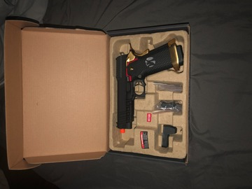 Selling: High Capa Pistol- gold edition
