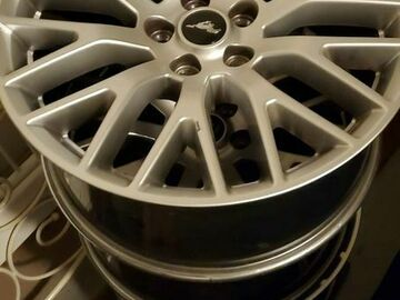 Selling with online payment:  2017 mustang wheels