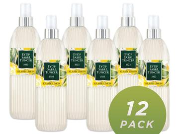 Liquidation/Wholesale Lot: Eyup Sabri Classic Lemon Cologne 150ML Spray Bottle, Pack 12