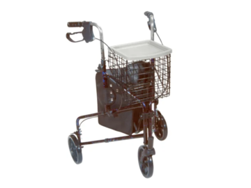SALE: 3-Wheel Rollator with Basket & Tray