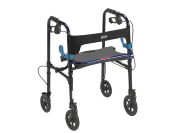 """SALE: Clever-Lite 4-Wheel Rollator with 8"""" Wheels"""
