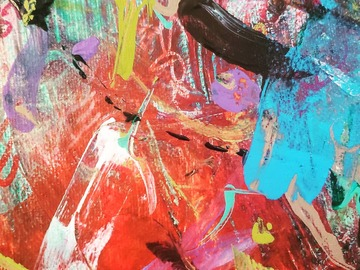 Sell Artworks: Freethoughts red