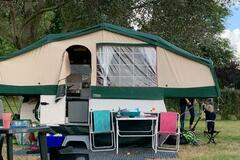 Renting out with online payment: Carol's Trailer tent hire