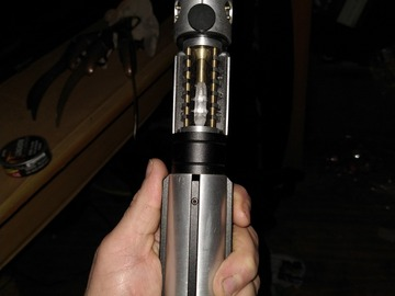 Selling with online payment: Saberforge unleashed empty hilt