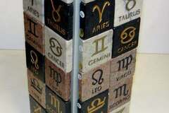 Liquidation/Wholesale Lot: Horoscope Stone Sense Zodiac Astrology Sign Marble Magnets