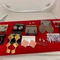 Liquidation/Wholesale Lot: 700 pairs-- Assorted Earrings-- $ .15 pair!!