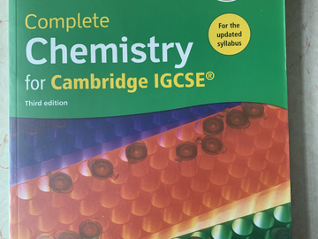 Selling with online payment: Complete Chemistry for Cambridge IGCSE