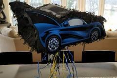 Liquidation/Wholesale Lot: Hallmark Batman Batmobile Car Pull String Piñata