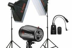 For Rent: Caler (Jinbei)  Studio Flash Kit Smart V400 For Rent
